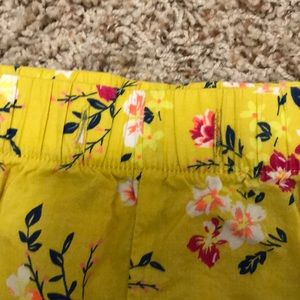 Old Navy Shorts - Old Navy: Floral Cotton Shorts